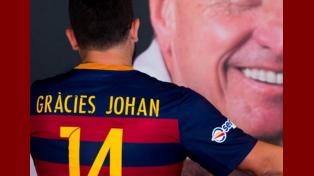 Barcelona homenajeará a Cruyff