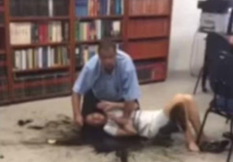 Amenazó con prenderle fuego a una jueza si no lo declaraba inocente de golpear a su esposa