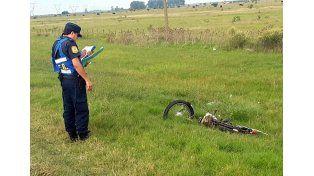 Un motociclista falleció en un accidente en la ruta 14