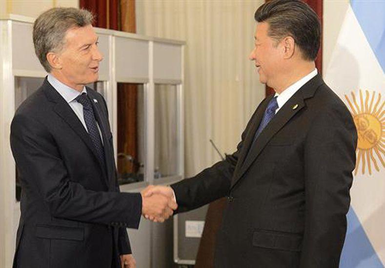 Macri está reunido con el presidente de China, Xi Jinpin, en Washington