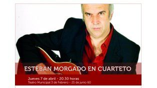 Esteban Morgado en cuarteto