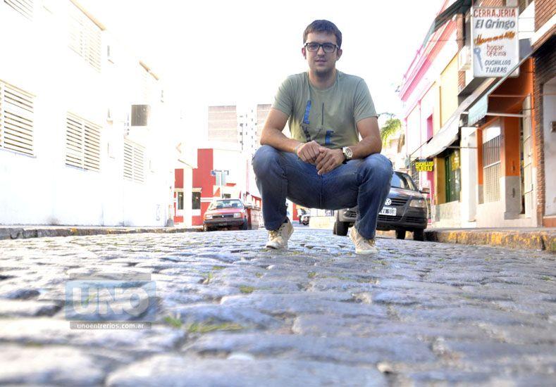 El paranaense Hernán Satler sueña con ser protagonista esta temporada. Foto UNO/Mateo Oviedo