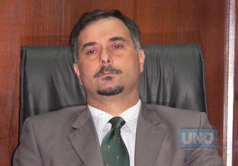 Vírgala. Preside el Tribunal.  Foto UNO/Juan Ignacio Pereira