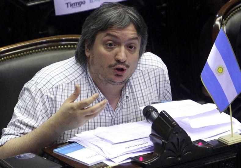 Máximo Kirchner confirmó que Cristina se presentará a declarar el 13 de abril