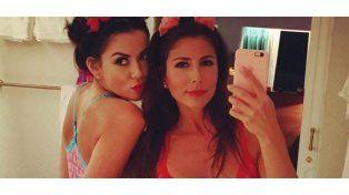 ¿Amistad o algo más? Karina Jelinek se mostró muy mimosa y sensual junto a Majo Martino