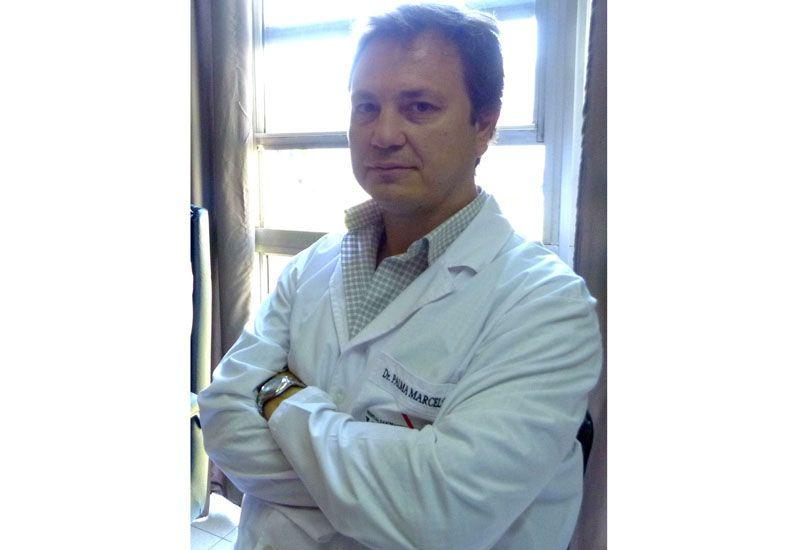 El doctor Marcelo Palma fue el encargado de practicar la cirugía.