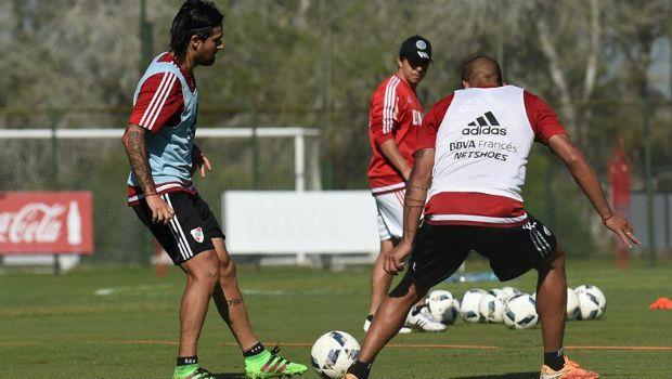 Una parte del plantel Millonario se entrenó con normalidad pensando en Patronato. Foto prensa CARP.
