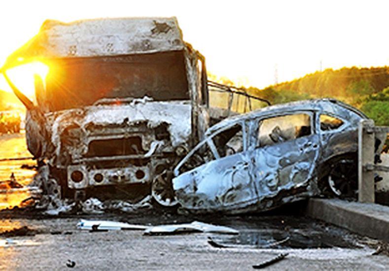 Identificaron a los argentinos que murieron en accidente en Paysandú