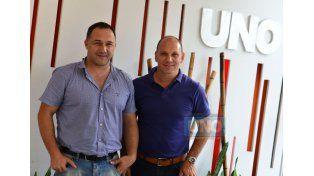 Los médicos Juan Hermida y Gustavo Gumpel son los coordinadores junto a Claudio Gregorutti. (Foto UNO/Juan Maniel Hernández)