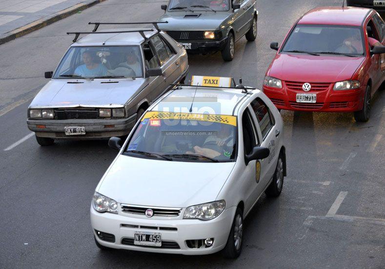 El servicio. El último incremento en la tarifa de los taxis se había dado en mayo de 2015. (Foto UNO/Mateo Oviedo)