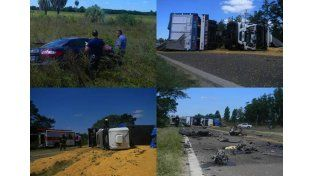Inspector de la AFIP de Paraná murió en un choque frontal en Corrientes