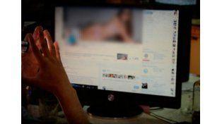 Pornografía infantil. El suboficial fue detenido en La Boca.  Foto ilustrativa