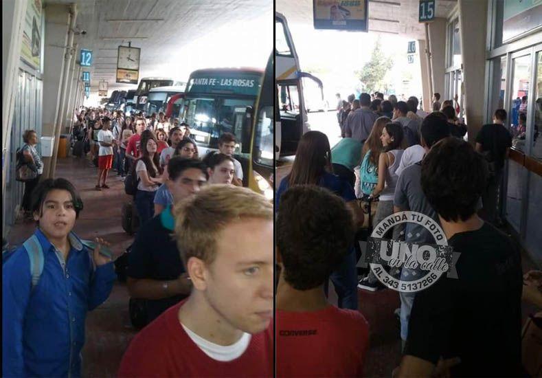 Siguen las quejas por las largas demoras para viajar entre Paraná y Santa Fe