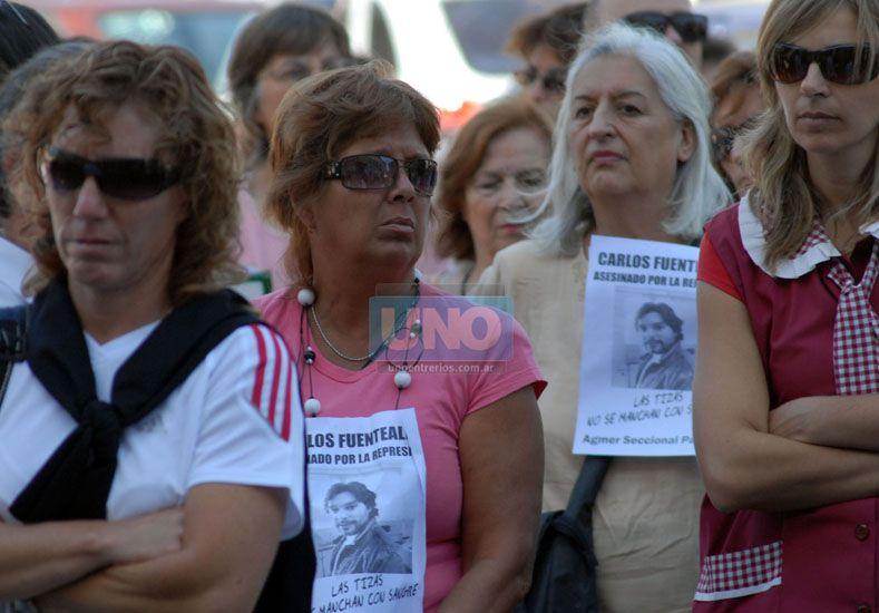 La fecha de la medida coincide con un nuevo aniversario del asesinato de Carlos Fuentealba..Foto Archivo UNO/Ilustrativa