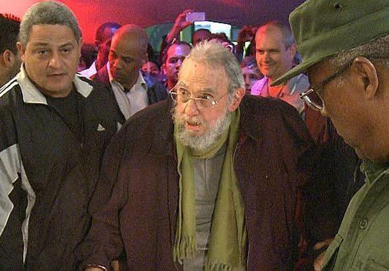 Foto: La última aparición de Castro