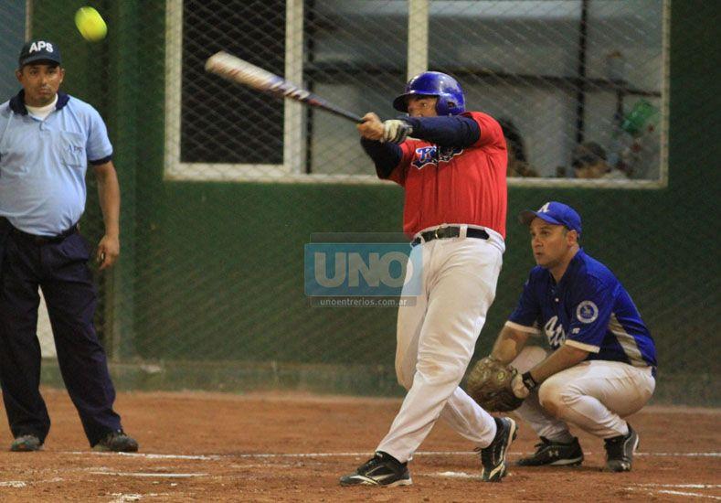 El equipo de Buenos Aires y su poder de bateo.  Foto UNO/Juan Ignacio Pereira