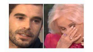 Nicolás Cabré hizo emocionar a Mirtha Legrand.
