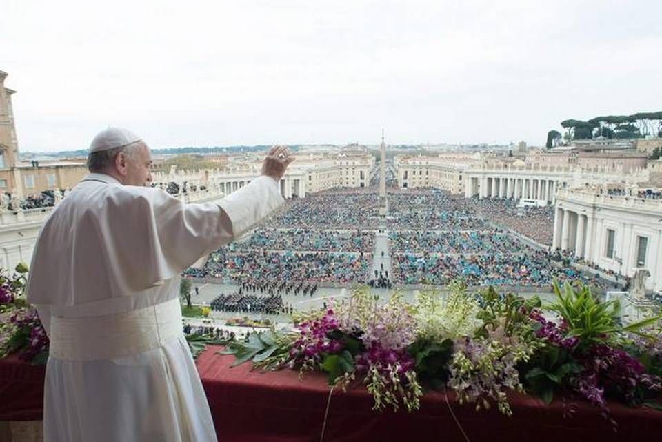 En su mensaje de Pascua, Francisco pidió por el pueblo venezolano y los inmigrantes