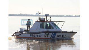 Prefectura Naval estaba buscando el cuerpo
