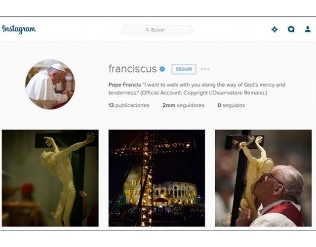 Francisco superó los dos millones se seguidores en su primera semana en Instagram