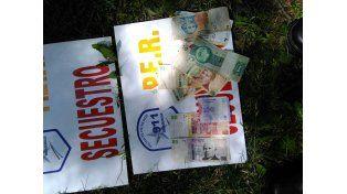 Un poco más de 200 pesos se llevó el ladrón entre sus ropas. Foto policía de Entre Ríos.