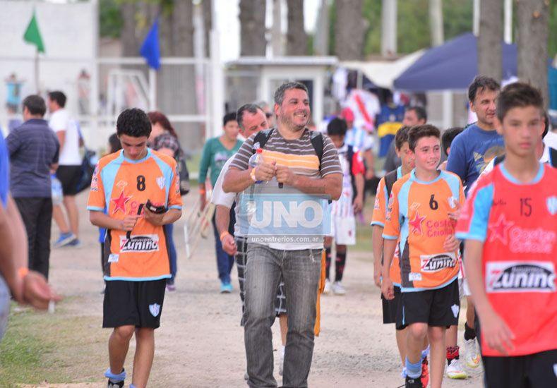 Belgrano fue uno de los equipos paranaenses con mayor presencia. (Foto UNO/Juan Manuel Hernández)