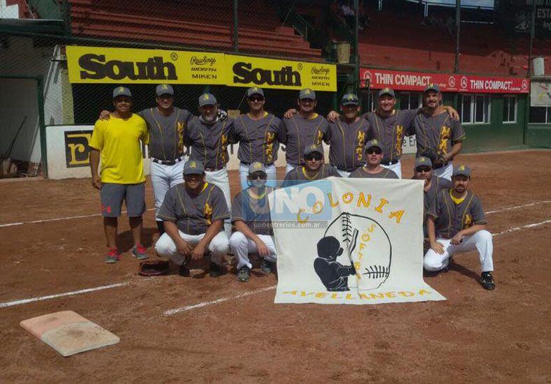 Debut nacional. El equipo de Colonia Avellaneda que forma parte por primera vez de la cita nacional de Lentos. (Foto UNO/Juan Manuel Hernández)