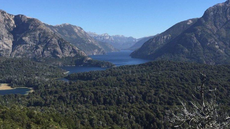 Obama publicó en Facebook una foto de Bariloche: Estoy agradecido, fue hermoso