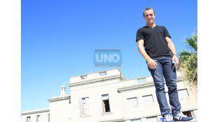 Mariano está arriba de todos en La Pampa. Foto UNO/ Juan Ignacio Pereira.