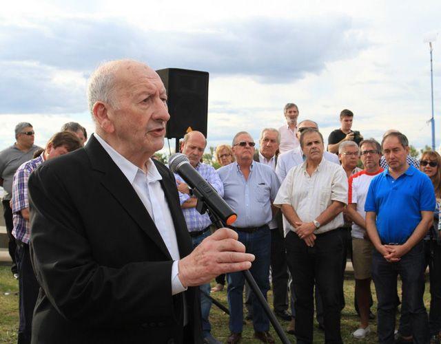 En el Día de la Memoria la Municipalidad rindió homenaje a Eduardo Solari
