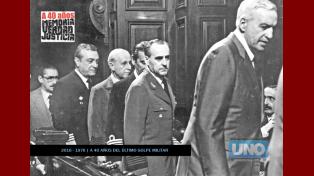 La sentencia. El 9 de diciembre de 1985 la Cámara Federal condenó a los jefes del genocidio.