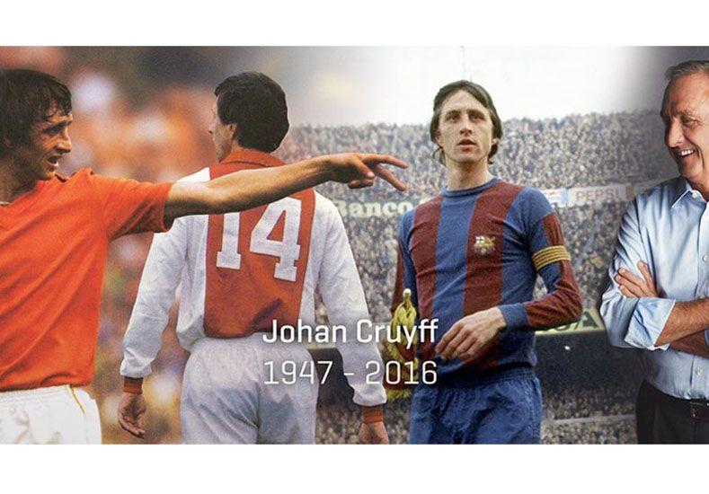 Murió Johan Cruyff