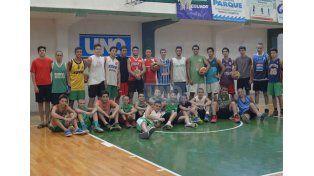 Una banda. Cerca de 240 jugadores tendrá este año la institución de calle Santiago del Estero. Sin dudas