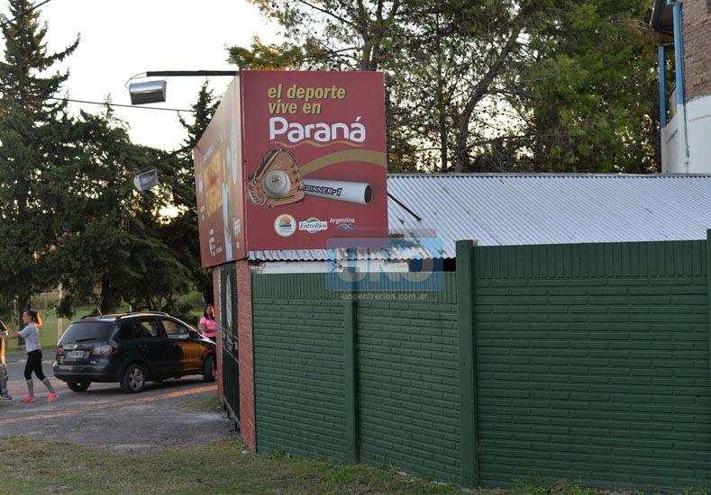 El Estadio Nafaldo Cargnel ya está listo para la competencia que arranca hoy. Foto UNO/Juan Manuel Hernández