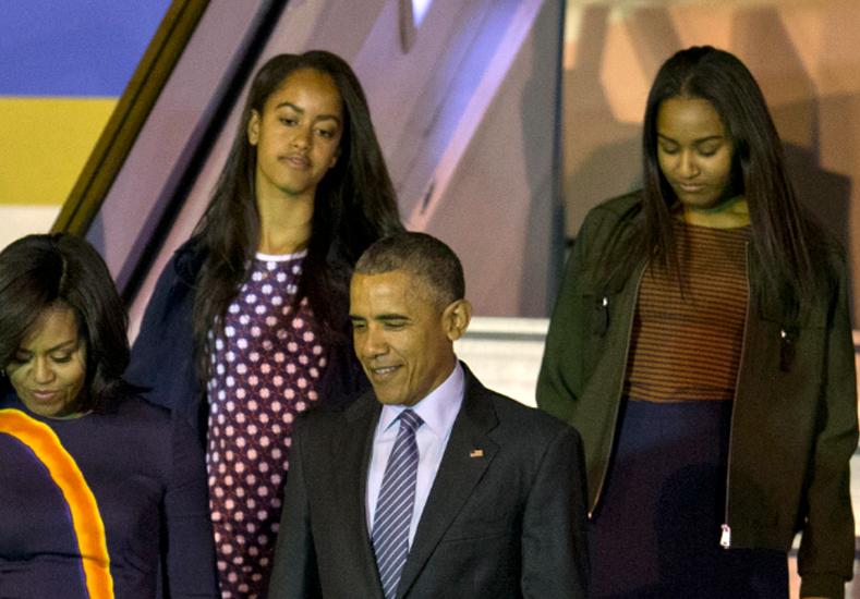 ¿De qué se quedaron con ganas las hijas de Obama?