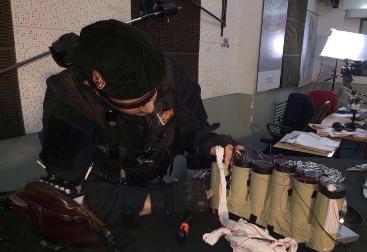 Pánico en Radio Nacional por un hombre que entró armado al estudio