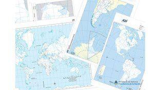 Ya se pueden descargar los mapas de la Argentina para el colegio