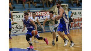 Echagüe viene de realizar una gran segunda fase. Perdió un solo juego como local. Foto UNO/Diego Arias
