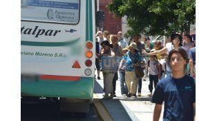 Sanción. Los padres esperan que la empresa de colectivo Mariano Moreno le llame la atención al chofer.  Foto UNO/Archivo ilustrativa
