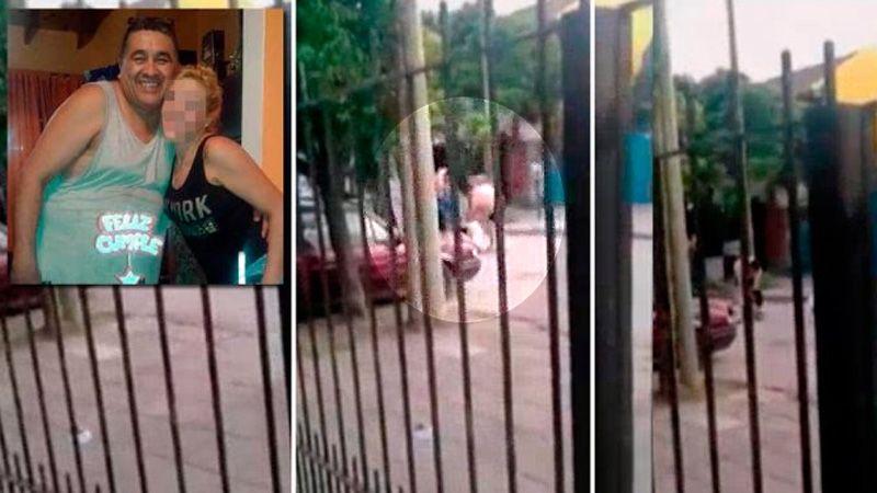 Video: Filmaron a dos sujetos cuando golpean a una joven hasta matarla