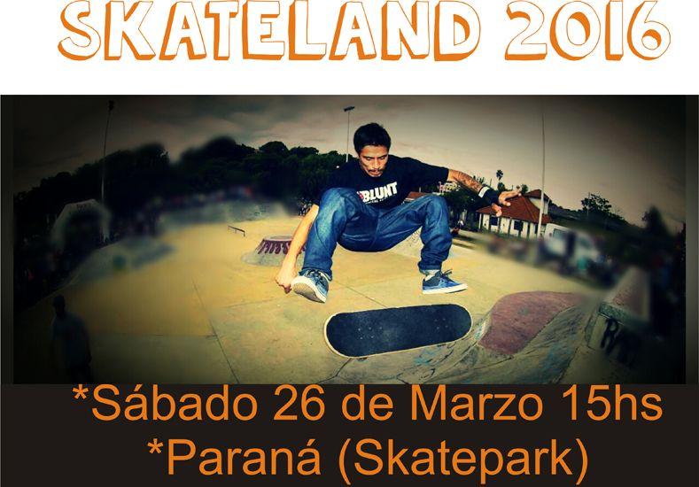 El skatepark de Paraná recibirá el segundo encuentro competitivo del año.