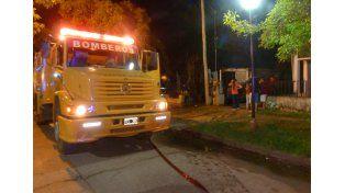 Investigan las circunstancias en que se inició un incendio