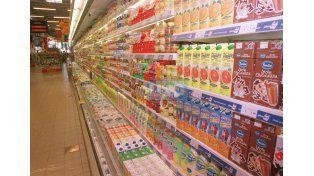 Góndola. Se estimó que el consumo se desplomó un 24% desde noviembre hasta febrero. Foto UNO/Archivo ilustrativa