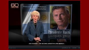 Macri fue entrevistado por la cadena CBS