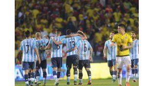 La Selección vuelve a entrenar de cara a la doble fecha de Eliminatorias.   Foto: Télam