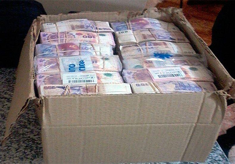 Incautaron más de 4 millones de pesos en el puesto caminero Paso Telégrafo