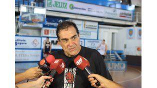 Miguel Volcan Sánchez llegó la semana pasada y comenzó a trabajar con el equipo. Foto UNO/Juan Ignacio Pereira