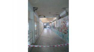 En conflicto. Hay problemas edilicios en la escuela Dos Naciones.