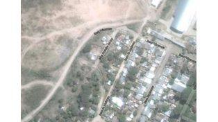 Marginal. La venta de droga afecta a los barrios más pobres de Paraná. Foto: Captura de Google Maps.