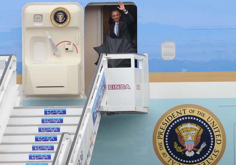 Obama llegó a Cuba en histórica visita